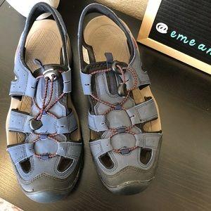 Atika outdoor men's sandals shoes blue water